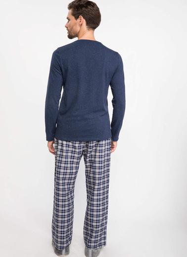 DeFacto Pijama Takımı Mavi